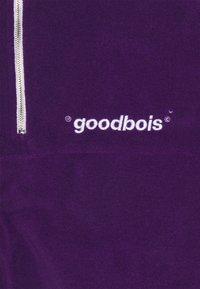 GOODBOIS - OFF HALFZIP - Fleecová mikina - purple - 2