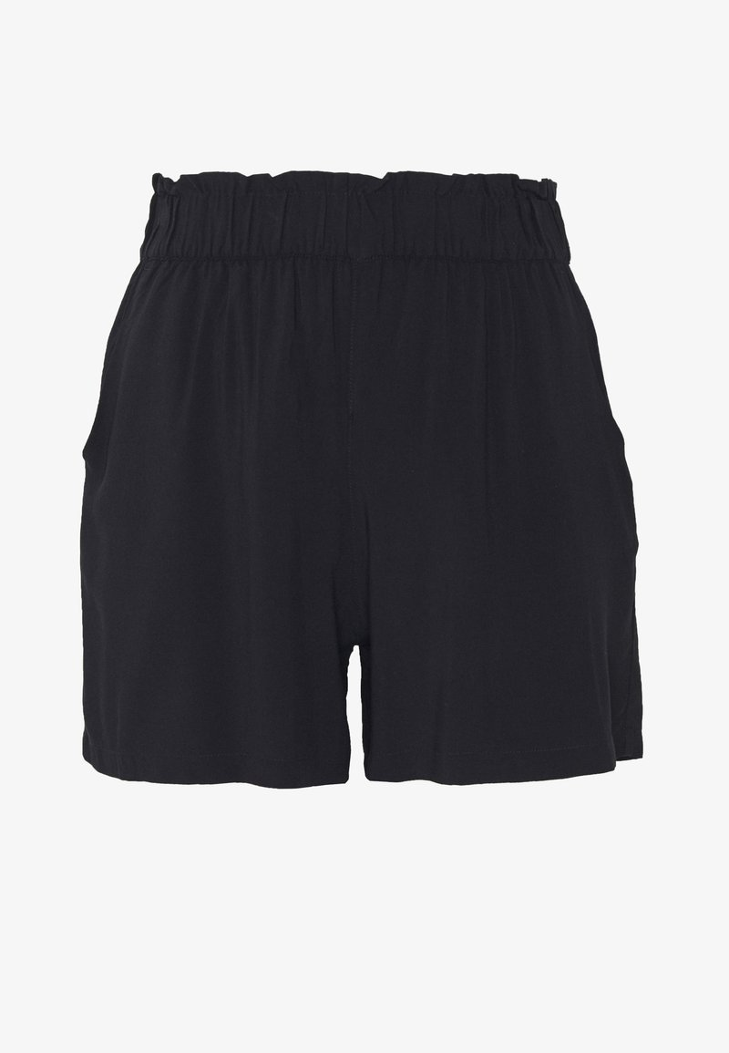 TOM TAILOR DENIM - RELAXED - Shorts - deep black