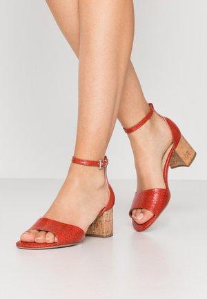 Sandaler - scarlet