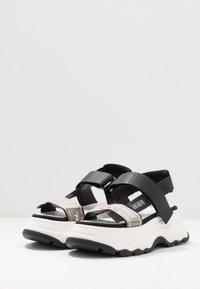 F_WD - Platform sandals - black - 4