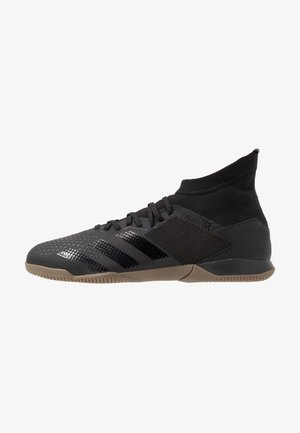 PREDATOR - Indoor football boots - core black/dough solid grey