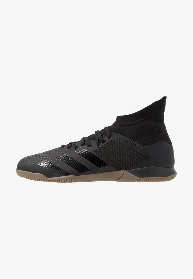 PREDATOR 20.3 IN - Fußballschuh Halle - core black/dough solid grey