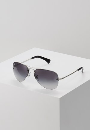 0RB3449 - Sunglasses - silver gray