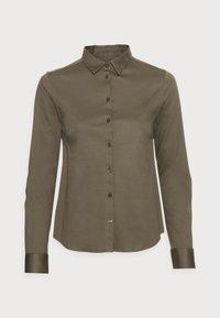 Mos Mosh - TINA - Button-down blouse - grape leaf - 3