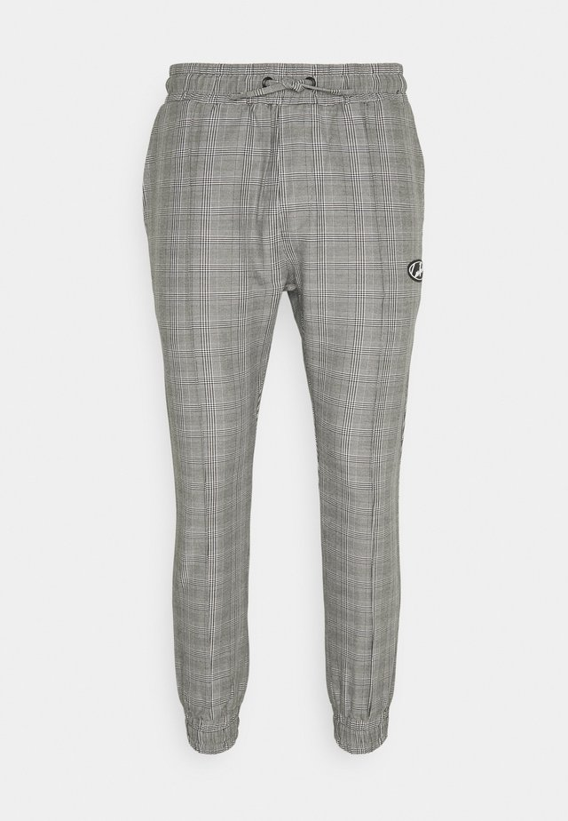 PIN TUCK  - Tracksuit bottoms - grey
