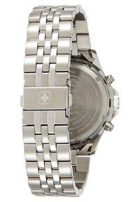 Swiss Military Hanowa - FLAGSHIP RACER - Chronograph watch - black/silver-coloured - 1