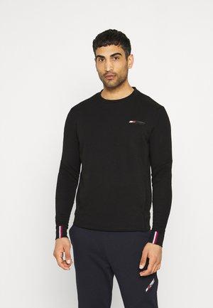LOGO CREW - Sweater - black