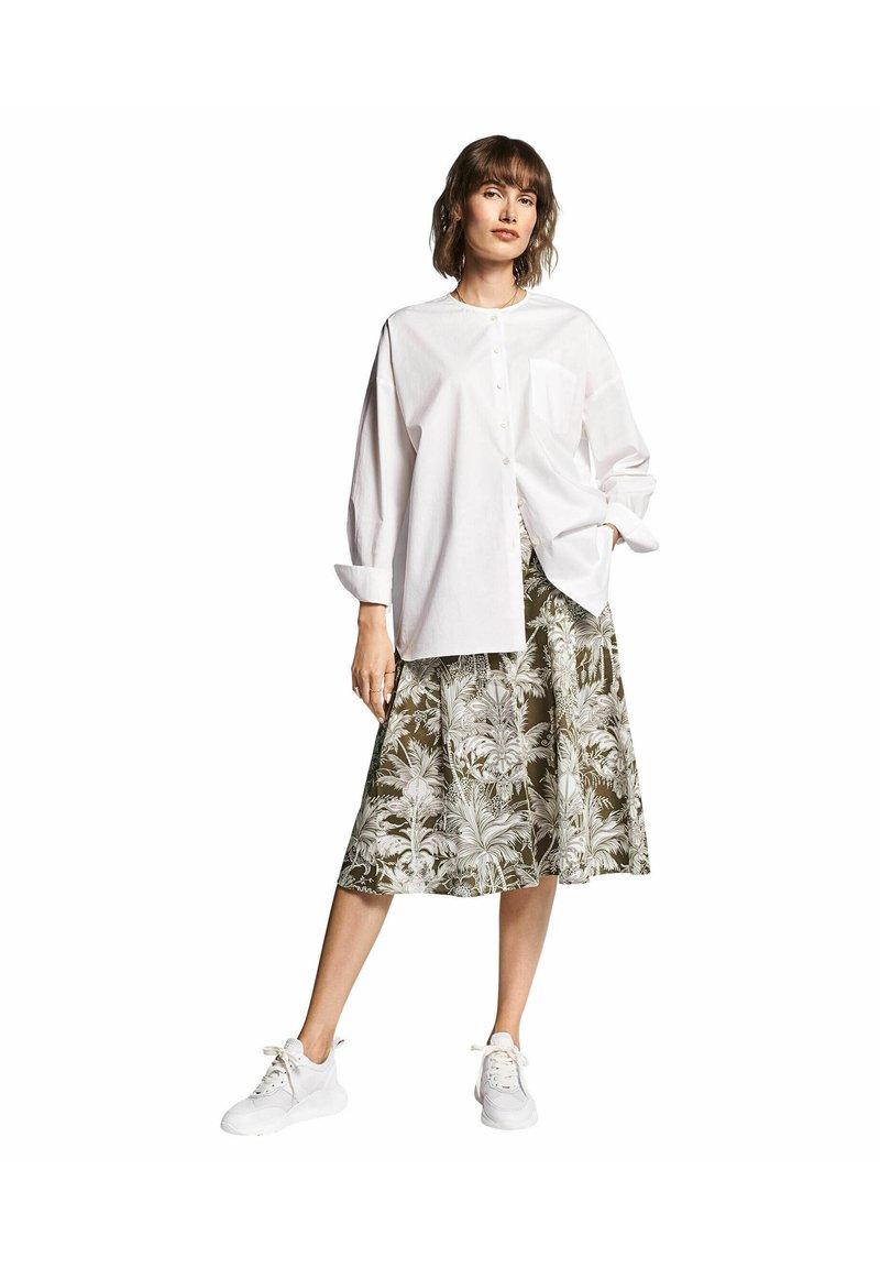 RIANI - A-line skirt - khaki (44)