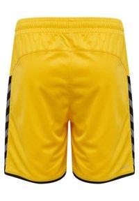 Hummel - HMLAUTHENTIC  - Sports shorts - sports yellow/black - 1