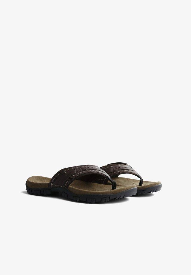 Teensandalen - brown