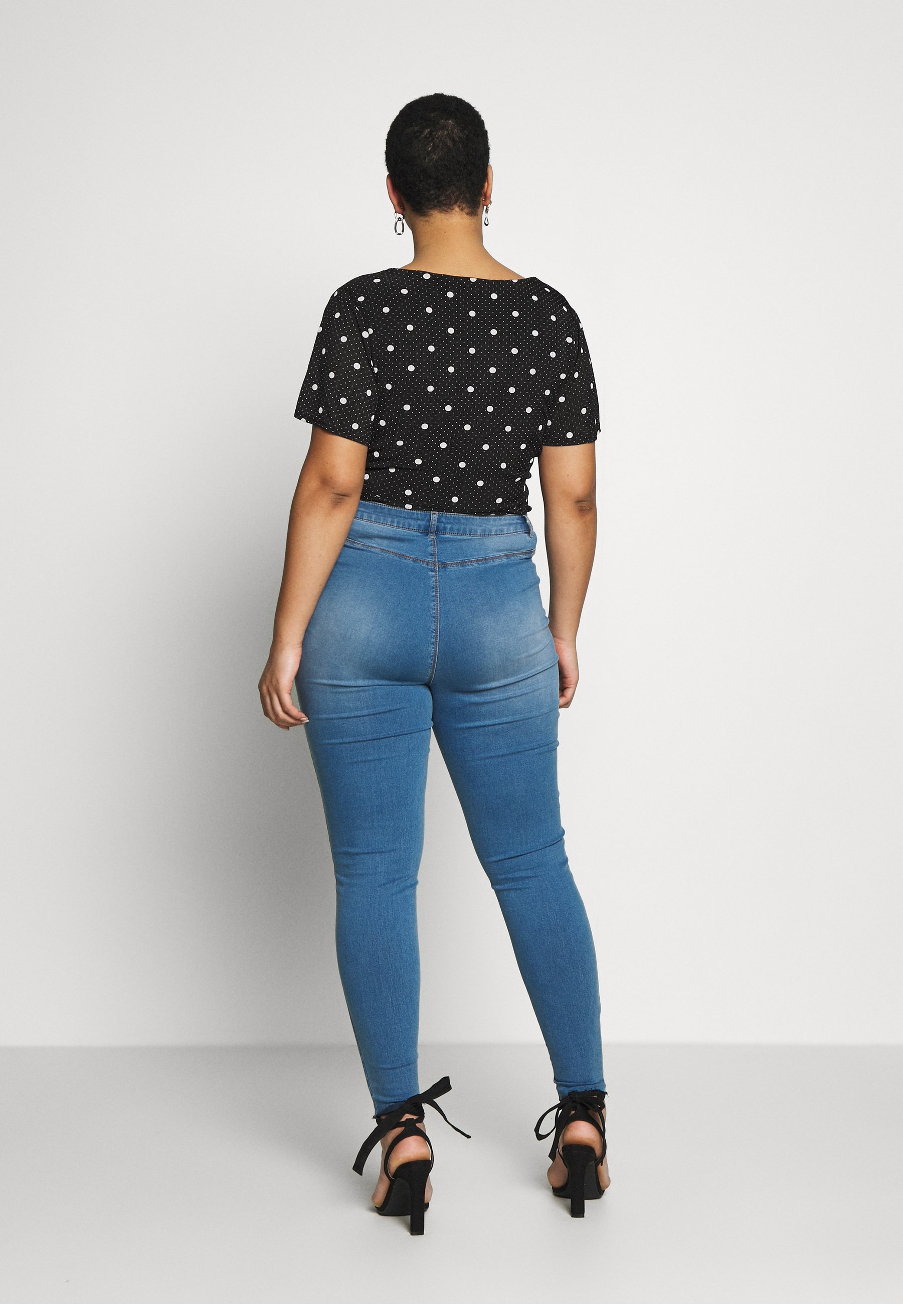 Donna BUTTON FRONT LAWLESS - Jeans Skinny Fit
