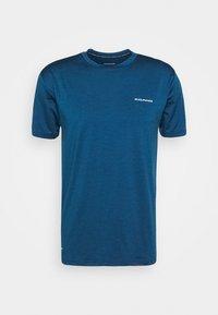 MELANGE TEE - Basic T-shirt - poseidon