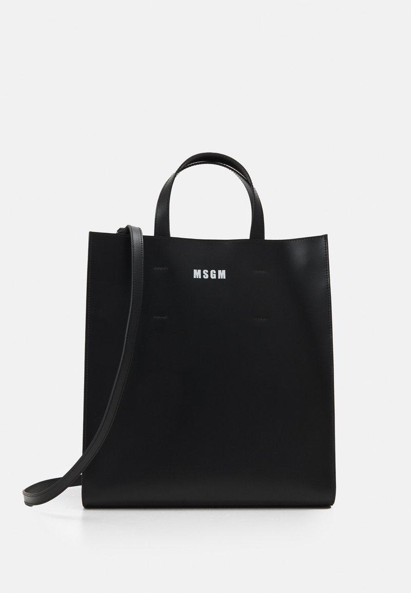 MSGM - BORSA BAGS UNISEX - Bolso shopping - black