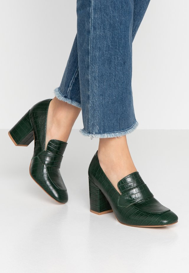 LINNEA - Classic heels - prussian green