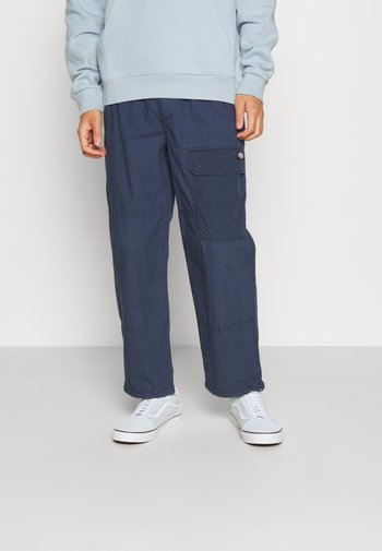 GLYNDON PANT - Cargo trousers - navy blue