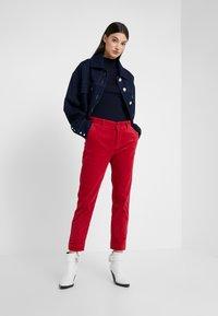 CLOSED - JACK - Kalhoty - ruby - 1