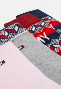 Tommy Hilfiger - KIDS SOCK FAIRISLE 4 PACK - Ponožky - tommy original rouge red - 1