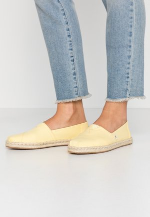 VEGAN ALPARGATA - Espadrillas - yellow