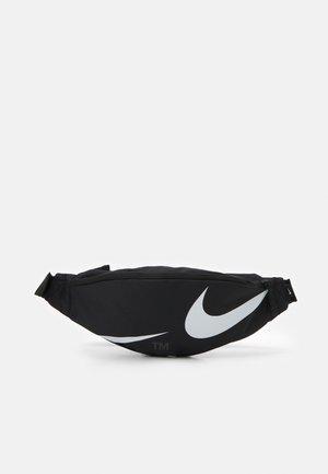 HERITAGE WAISTPACK UNISEX - Bum bag - black/white