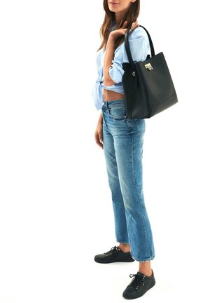 LAURIE - Tote bag - black