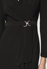 Lauren Ralph Lauren - CLASSIC LONG GOWN TRIM - Suknia balowa - black - 4