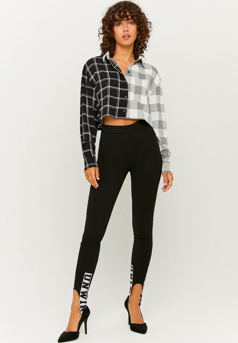 TALLY WEiJL - Button-down blouse - black