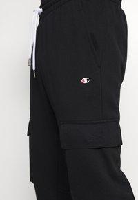 Champion - CUFF PANTS - Tracksuit bottoms - black - 3