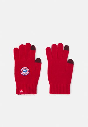 BAYERN MÜNCHEN GLOVES UNISEX - Gloves - true red/white
