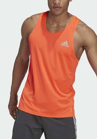 adidas Performance - OWN THE RUN SINGLET - Sports shirt - red - 5
