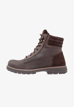 SCANDINAVIA GTX - Winter boots - dark  brown