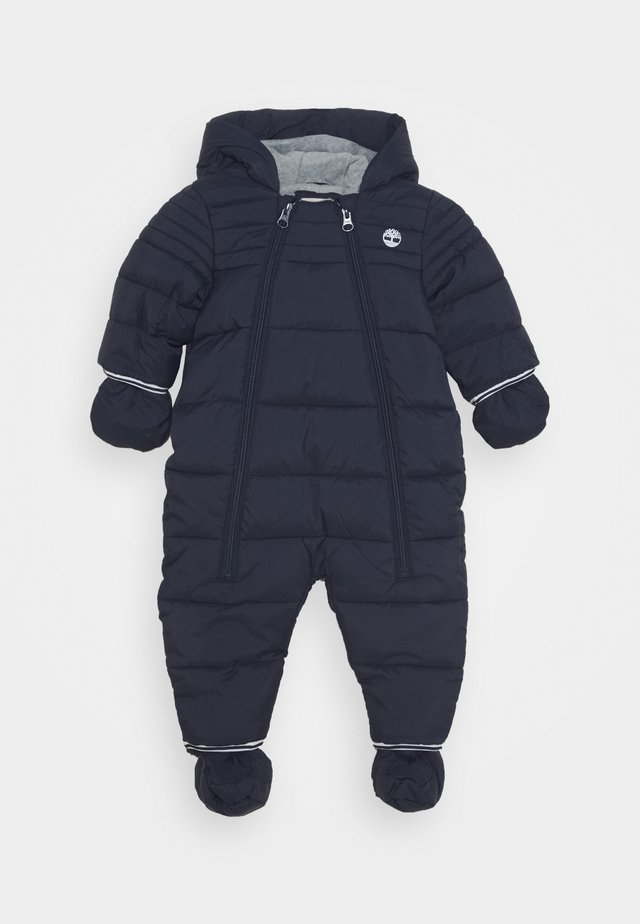 ALL IN ONE BABY  - Kombinezon zimowy - navy