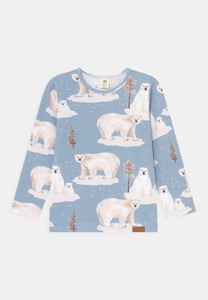POLAR BEAR FAMILY UNISEX - Langærmede T-shirts - light blue