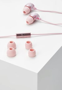 Happy Plugs - IN-EAR UNIK EDITION - Headphones - pink marble - 4