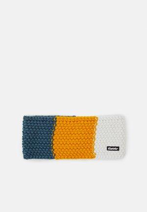 JAMIES FLAG UNISEX - Ohrenwärmer - hell petrol/amber/white