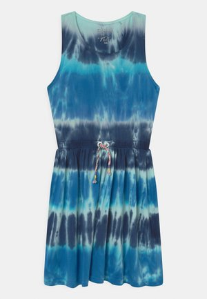 BATIK TEEN - Jersey dress - sea blue