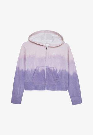 CORE FULLZIP WASH - Zip-up hoodie - purple
