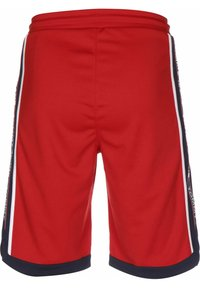 Tommy Jeans - BASKETBALL - Tracksuit bottoms - deep crimson - 1