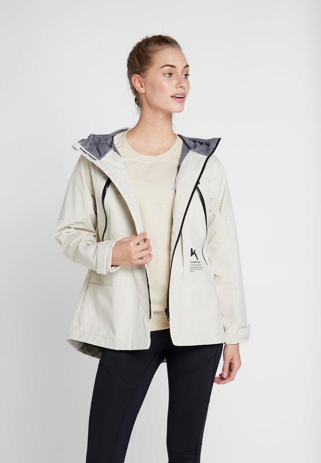BAVALLEN JACKET - Regnjakke / vandafvisende jakker - white