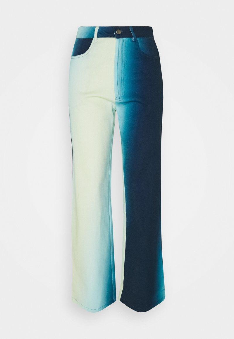 HOSBJERG - ALEXA PANTS - Džíny Straight Fit - blue fade