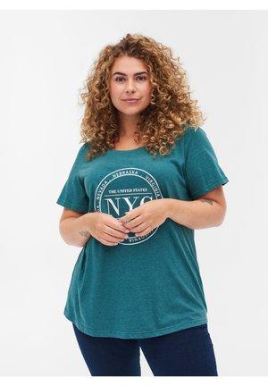 Print T-shirt - pacific mel.