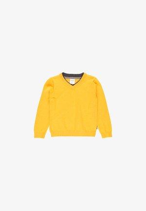 Pullover - ocher