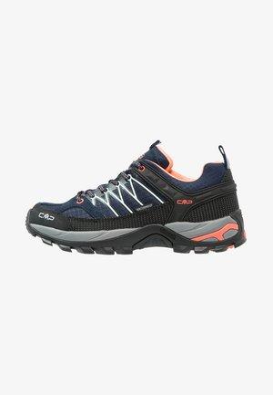 RIGEL LOW TREKKING SHOE WP - Hikingschuh - blue/giada/peach