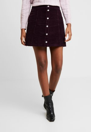 PIMERO - A-line skirt - bordeaux