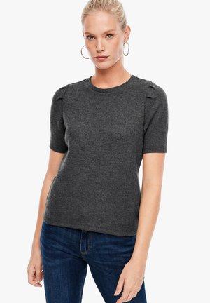 Basic T-shirt - asphalt melange