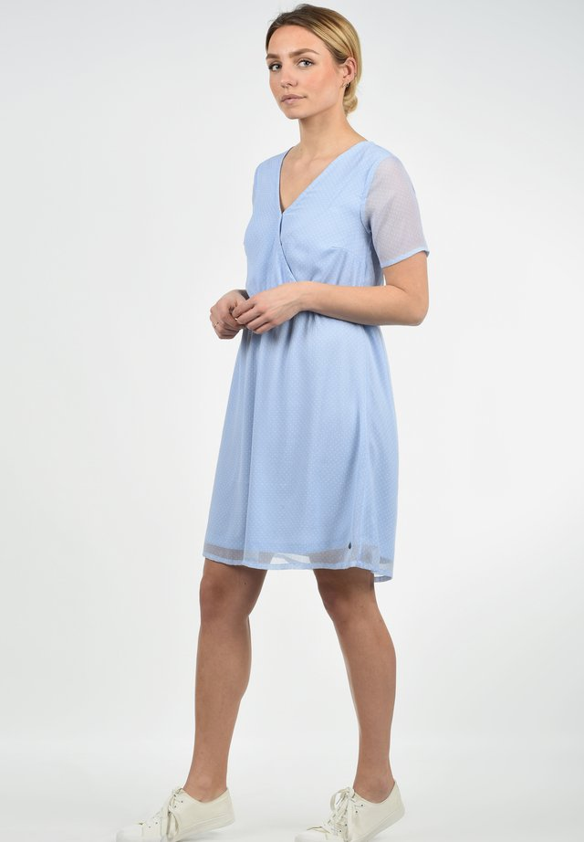 CHARLOTTE - Korte jurk - light blue