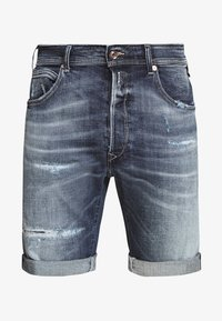 Jeans Shorts - medium blue