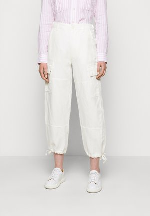Trousers - antique cream