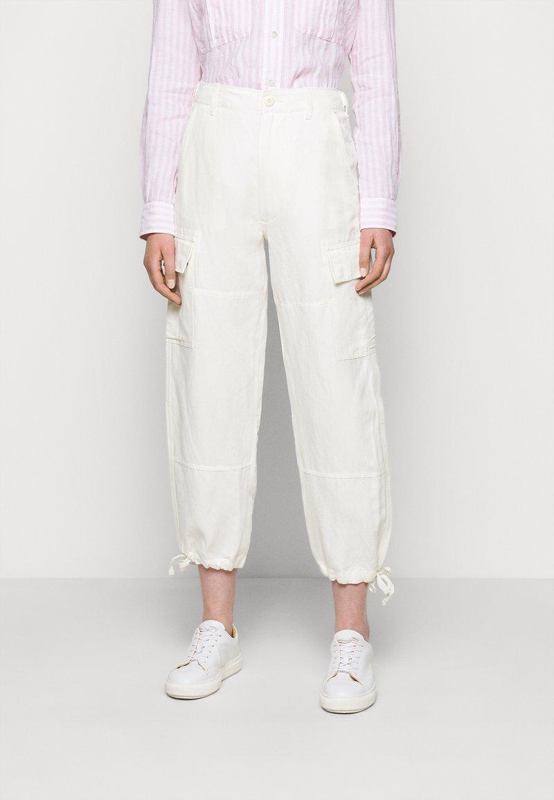 Polo Ralph Lauren - Spodnie materiałowe - antique cream