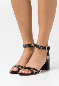 HUGO - KIMLEY - Sandals - black - 0