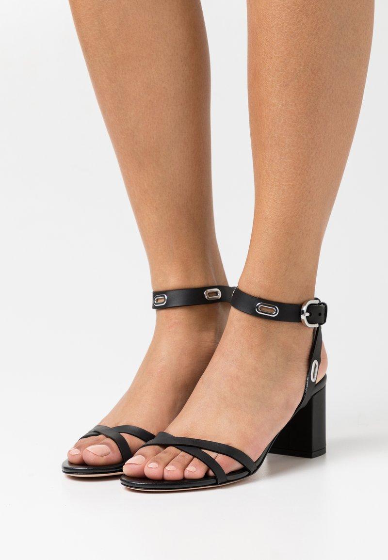 HUGO - KIMLEY - Sandals - black